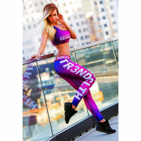 Tr3nd Clothing Tights Real Athletes Lila
