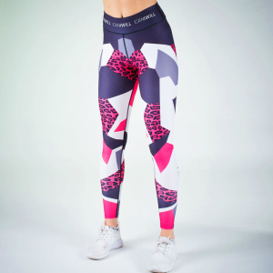 ICANIWILL Tights Leopard Pink Leo V.2 Women