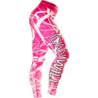ICANIWILL Tights Forrest Pink White Women