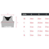 Tr3nd Clothing Sports Bra Real Athletes Pink