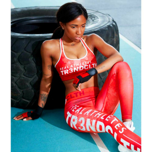 Tr3nd Clothing Tights Real Athletes Red